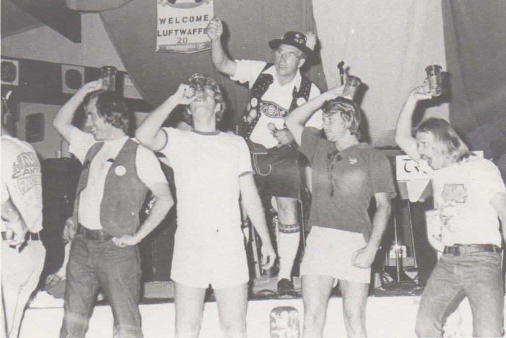 1970's Beer Chug